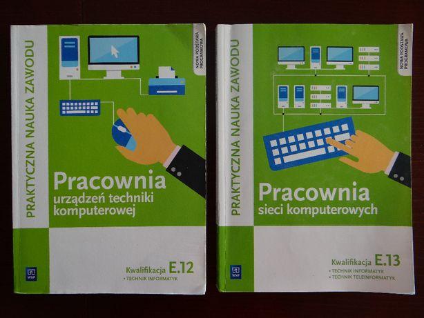 Technik Informatyk podręczniki do egzaminu EE.08 - sieci i urządzenia