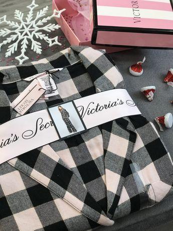 Пижама victoria secret виктория сикрет піжама фланель
