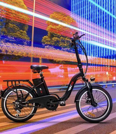 Bicicleta Elétrica Dobrável Ebike RKS GT 25 Shimano