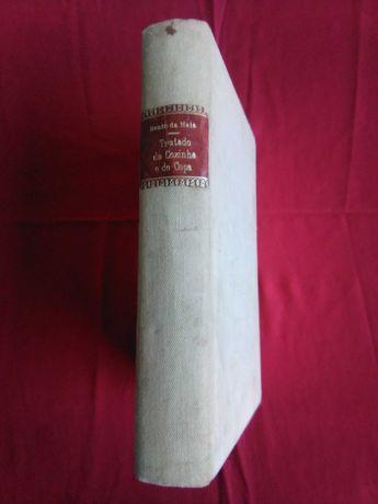 """Antigo livro cozinha """"Tratado completa de Cozinha e de Copa"""" 1904"""