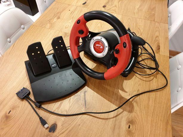 Kierownica Apollo Racing PC/Playstation (ps/ps2)