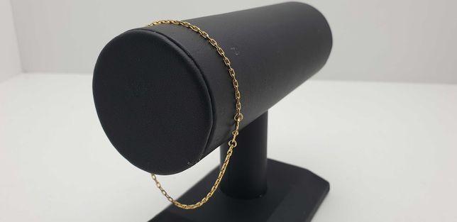 Złota bransoletka ANKIER 1,62g 585.20cm