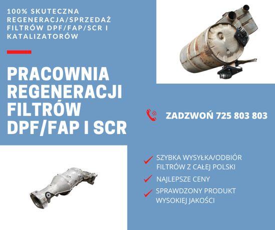 DPF Regeneracja, naprawa, mycie i czyszczenie filtrów DAF IVECO MAN VO
