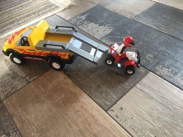 Laweta Jeep z kładem Plejmobil