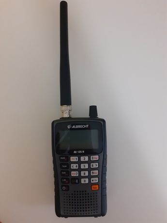 Odbiornik radiowy/skaner mobilny ALBRECHT 125 H