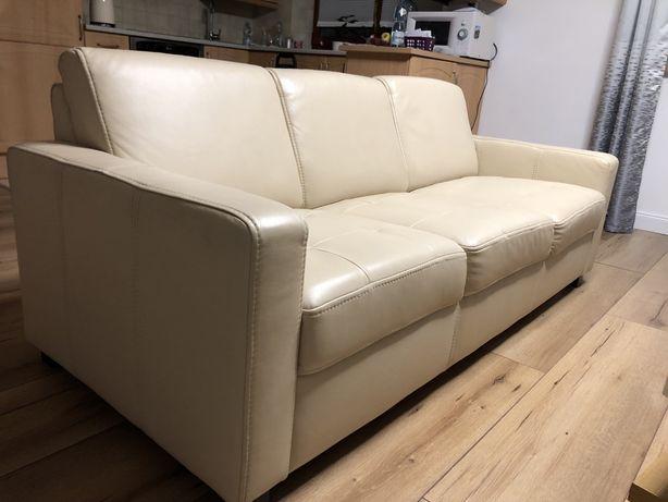 Sofa - skóra naturalna - rezerwacja