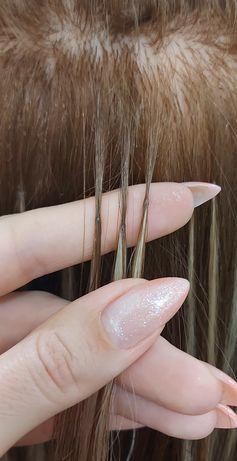 Нужна модель для наращивания волос испанской техники