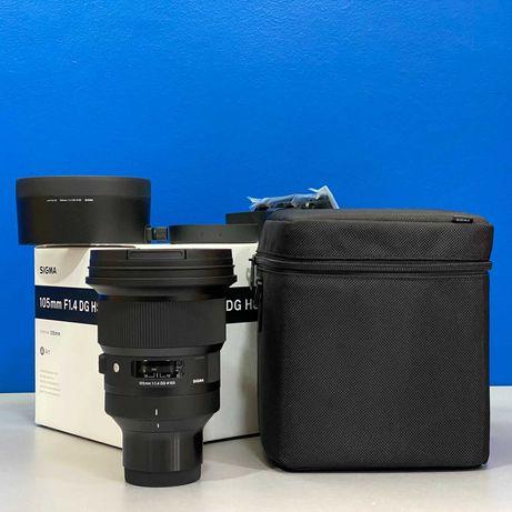 Sigma ART 105mm f/1.4 DG HSM (Sony FE) - NOVA - 5 ANOS DE GARANTIA