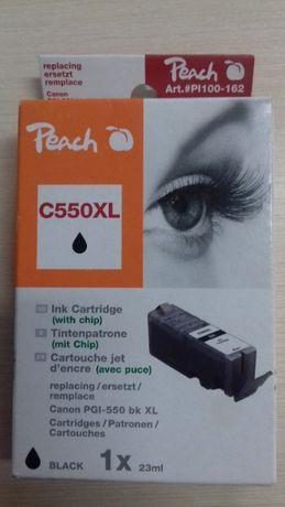 Картридж черный с чипом Canon PGI-550 bk XL