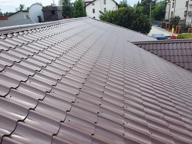 Malowanie natryskowe dachów dachu elewacji mycie kostki
