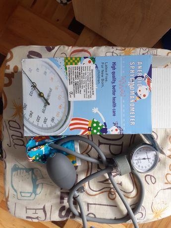 Ciśnieniomierz dziecięcy zegarowy z 3 mankietami