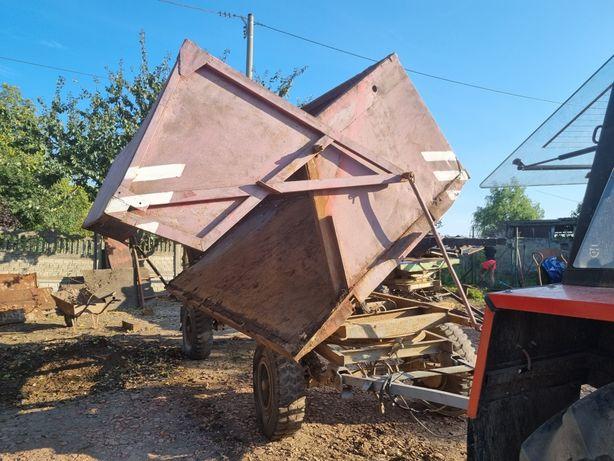 Przyczepa rolnicza czeska bss p73 7 ton Brandys panav okazja hl hw