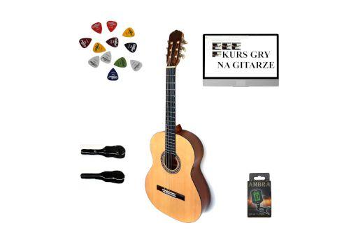 Gitara klasyczna Ever Play EV-132 3/4 +pokrowiec+stroik+DarmowaWysyłka