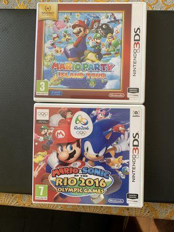 Mario Party e Mario & Sonic 3DS