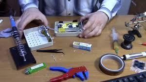 Монтаж та пайка электронного обладнання