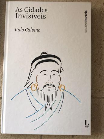 Livro As Cidades Invisíveis de Italo Calvino