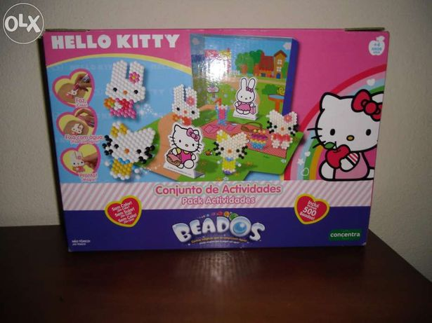 Conj. atividades Deluxe Hello Kitty