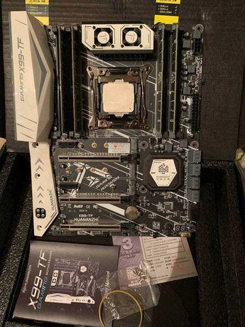 Комплект Huananzhi Gaming X99-TF/ Xeon E5 2678 v3 / 64gb DDR3 Samsung