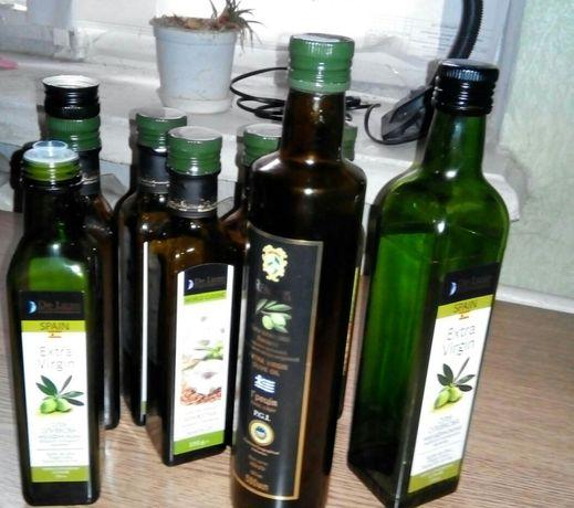 Бутылки стеклянные 250 мл, 05 л и 1 л, тёмное стекло, САМОВЫВОЗ