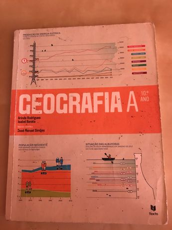 Geografia A - 10º Ano