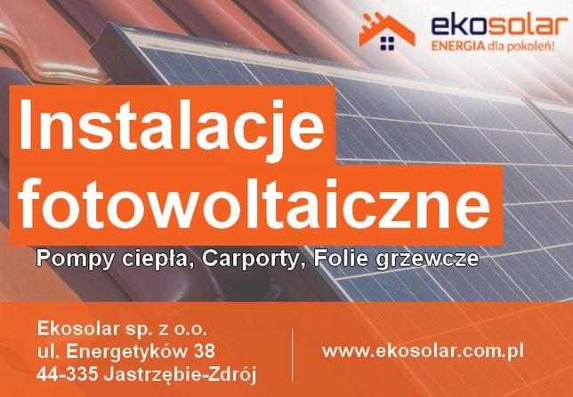Fotowoltaika - Instalacja 3,92 kWp od 16500 zł brutto z montażem