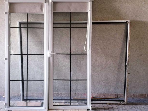 Okno balkonowe aluminiowe