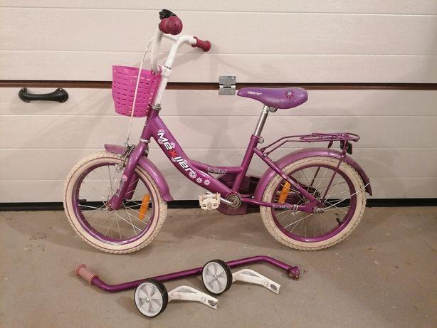 """Rower dziewczęcy 16"""""""
