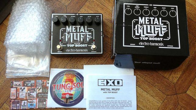Efekt Electro Harmonix Metal Muff - Jak nowy + Gwarancja Przester OD