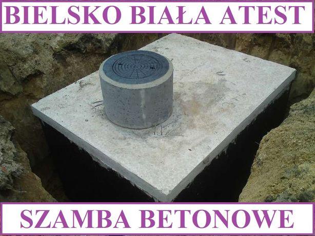 Szamba betonowe na ścieki 8m3 szambo zbiornik zbiorniki od 4m3 - 12m3