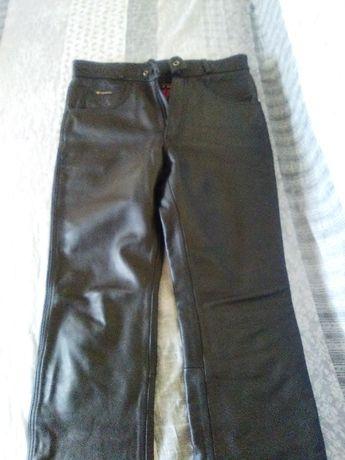 spodnie skórzane męskie modeka
