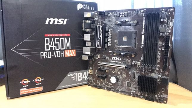 Продам материнскую плату MSI B450M Pro-VDH