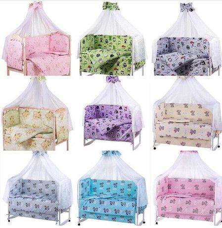 Набор детскогопостельного белья / Бортики в кроватку / защита в манеж