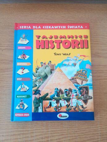 Książka dla dzieci Tajemnice Historii