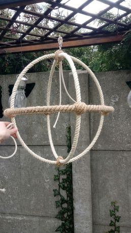 Place zabaw dla papug zabawki z naturalnych lin huśtawki żerdzie