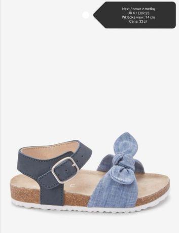 Sandałki Next rozmiar 23