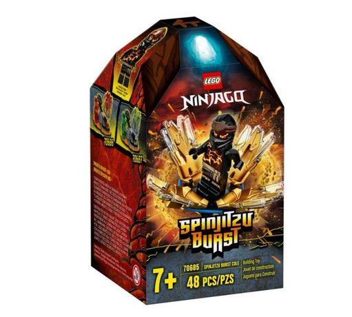 LEGO Ninjago Wybuch Spinjitzu - Cole 70685
