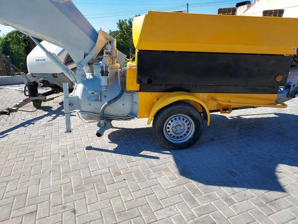Máquina para betonilha a diesel com compressor