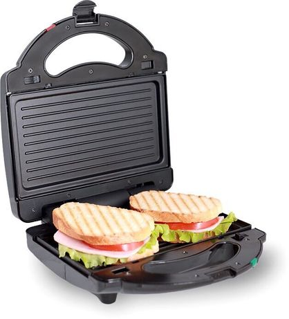 Новая бутербродница Domotec 7709 /1000 Вт гриль / сендвичница / тостер