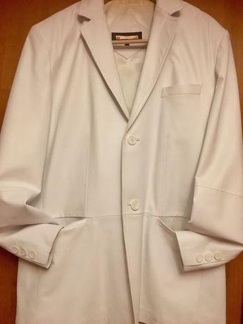 Продам куртку и пиджак- куртку белую