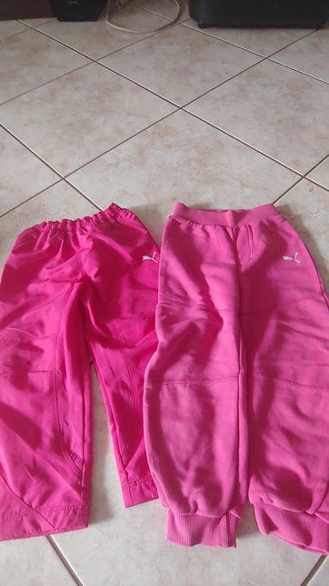 Spodnie dresowe Puma 98 i 104