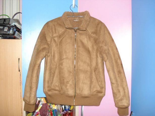 Красивая курточка-дубленка р.36 новая!!!