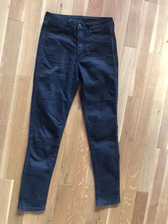 Spodnie jeansowe hm rozm S tania wysylka olx