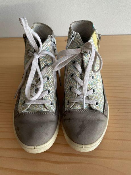 Дитячі шкіряні черевики Ricosta, кеди, кожаные ботинки