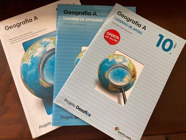 Projeto Desafios – Geografia A 10.º Ano – Santillana