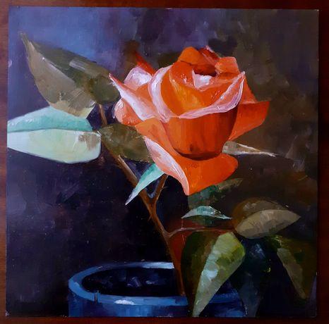 "Картина ""Троянда"""