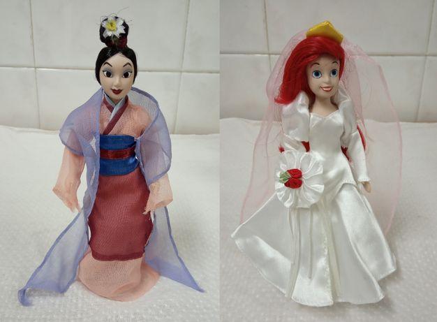 Colecção Bonecas de Porcelana Princesas Disney