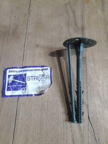 Дюбель для пінопласту 10х140 STREZZAR  (220шт)
