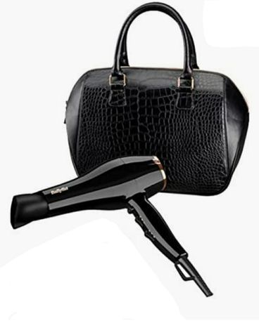 Secador de cabelo babyliss 2100w Novo + bolsa + escova