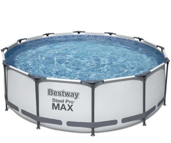 Бассейн каркасный Bestway Steel Pro Max 56260 Насос 366х100 см, V 9150