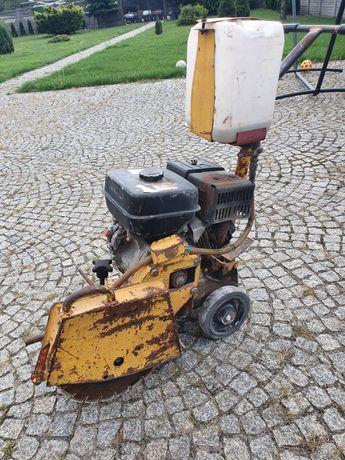 Przecinarka piła jezdna spalinowa Weber SM 57-2 Asfaltu, betonu